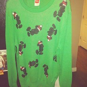 Sweaters - Nwt disney mickey mouse christmas sweater medium